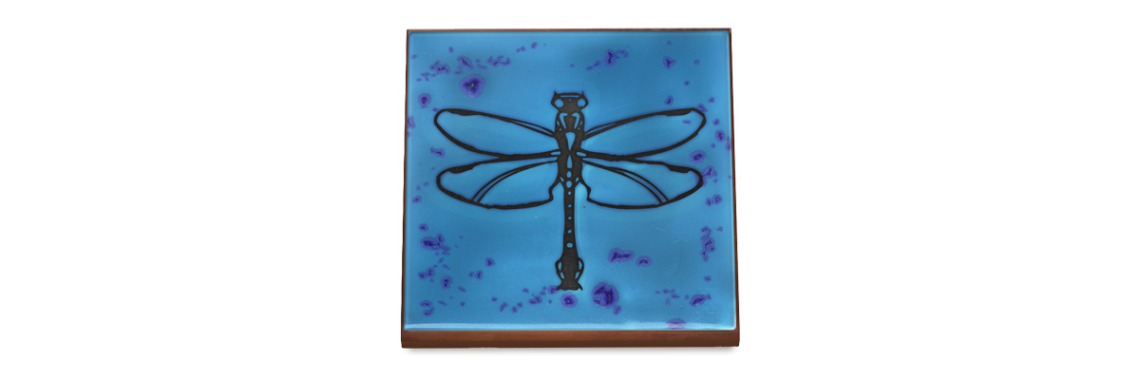 Terra Cotta Tile - Dragonfly