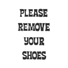 Remove Shoes