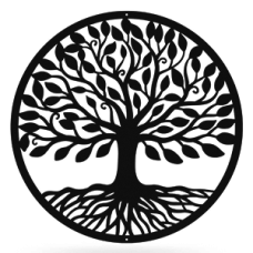 Tree of Life in Circle