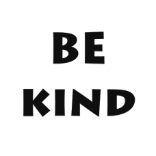 Be Kind - Word