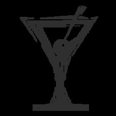 Martini glass (single)