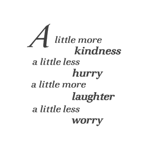 A Little…