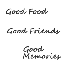 Good Food Memories