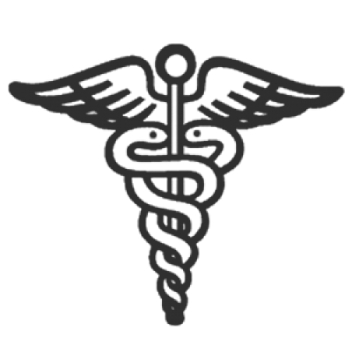 Fired Up Tiles Medical Symbol Logo
